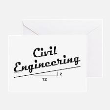 Civil Slope Greeting Card