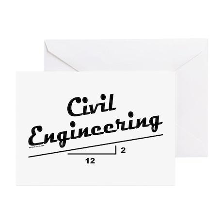 Civil Slope Greeting Cards (Pk of 20)