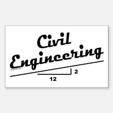Civil Slope Rectangle Decal