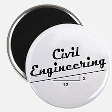 "Civil Slope 2.25"" Magnet (10 pack)"