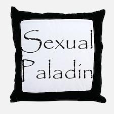 Sexual Paladin Throw Pillow