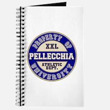 Pellecchia Name Athletic Dept Journal