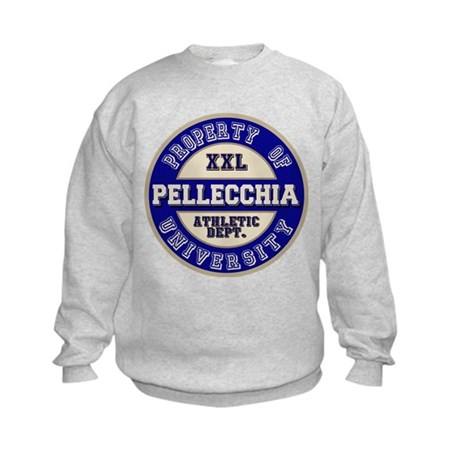 Pellecchia Name Athletic Dept Kids Sweatshirt
