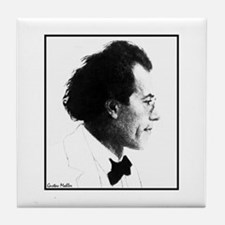 "Faces ""Mahler"" Tile Coaster"