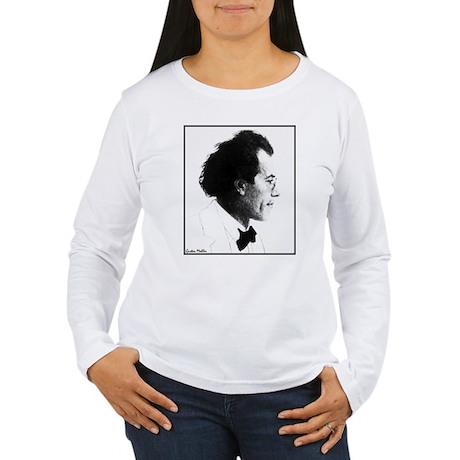 "Faces ""Mahler"" Women's Long Sleeve T-Shirt"