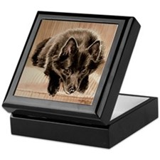 Schipperke Keepsake Box