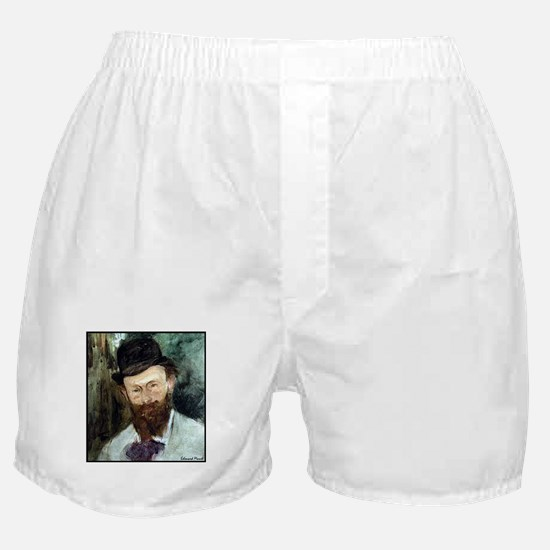 """Faces """"Manet"""" Boxer Shorts"""