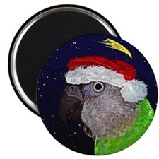 Christmas Night Senegal Parrot Magnet