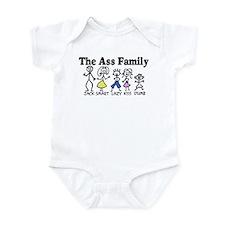 The Ass Family Infant Bodysuit