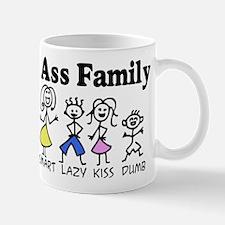 The Ass Family Mug