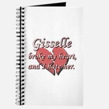 Gisselle broke my heart and I hate her Journal