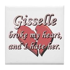 Gisselle broke my heart and I hate her Tile Coaste