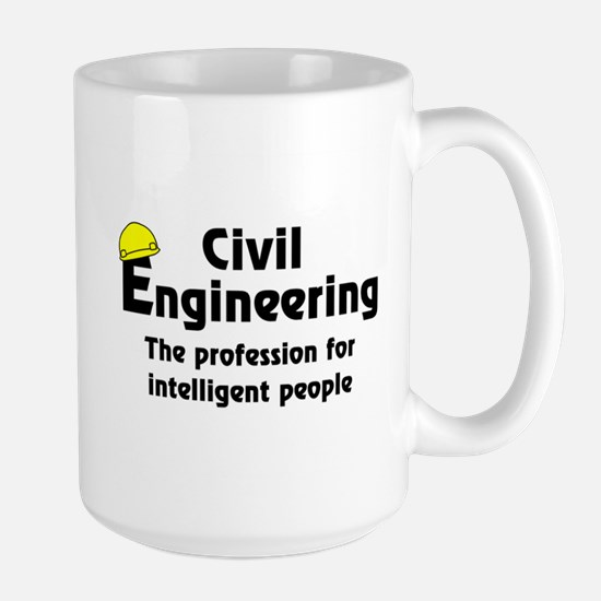 Smart Civil Engineer Large Mug