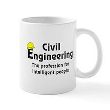 Smart Civil Engineer Small Mug