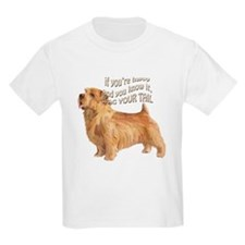 happy norfolk terrier T-Shirt