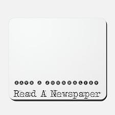 Save a Journalist Mousepad