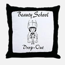 Beauty School Throw Pillow