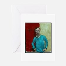 """Faces """"Modigliani"""" Greeting Cards (Pk of 10)"""