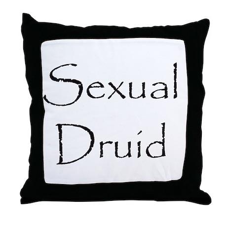 Sexual Druid Throw Pillow