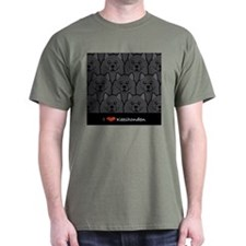 Keeshond Love T-Shirt