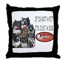 NOT JUST A DOG Throw Pillow