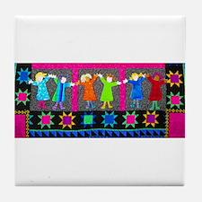 Celebrate Tile Coaster