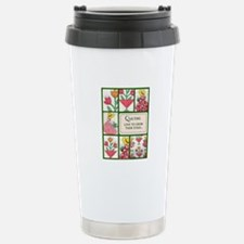 Gardening Quilter Travel Mug