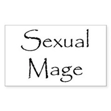 Sexual Mage Rectangle Decal
