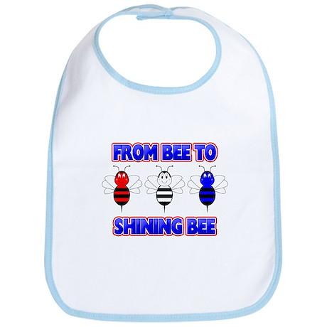 From Bee To Shining Bee Bib