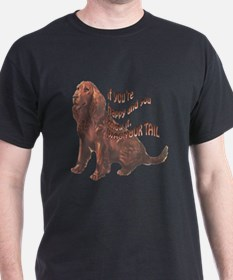 Happy American Water Spaniel T-Shirt