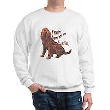 Happy American Water Spaniel Sweatshirt