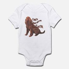 Happy American Water Spaniel Infant Bodysuit