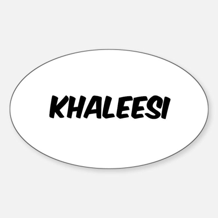 khaleesi Decal