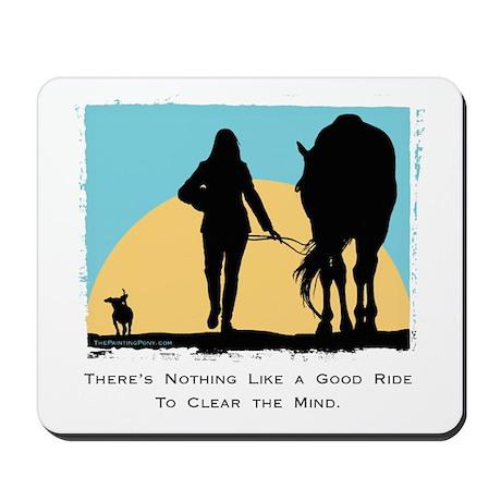 Good Ride Equestrian Mousepad