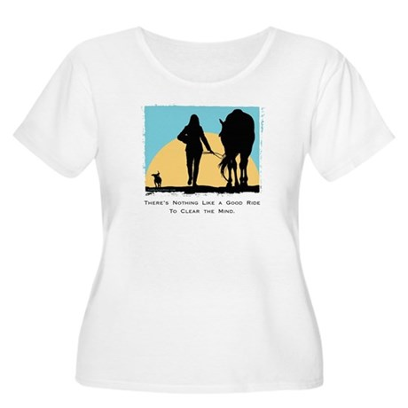 Good Ride Equestrian Women's Plus Size Scoop Neck