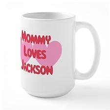 Mommy Loves Jackson Mug