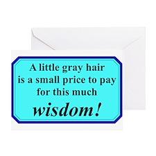 """Senior Wisdom"" Greeting Card"