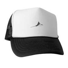Spotted Eagle Ray Trucker Hat by A. Clark