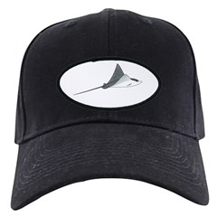 Spotted Eagle Ray Baseball Hat by Andrew Clark