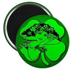 Shamrock Girl Magnet