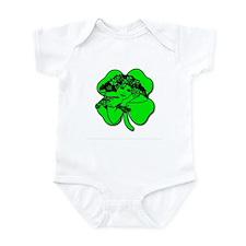 Shamrock Girl Infant Bodysuit