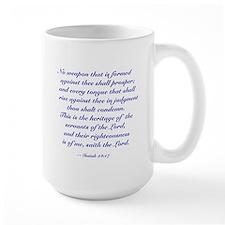 "Isaiah ""No Weapon Shall Prosper"" Mug"