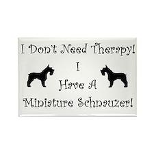 SchnauzerTherapy Magnets