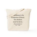 Henry David Thoreau 14 Tote Bag
