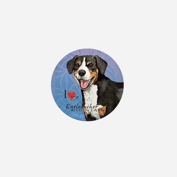Entlebucher Mountain Dog Mini Button