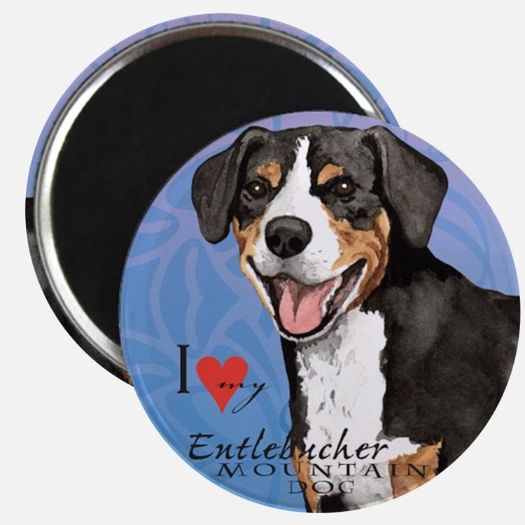 Entlebucher Mountain Dog Magnet