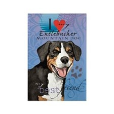 Entlebucher Mountain Dog Rectangle Magnet