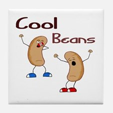 Cool Beans Tile Coaster