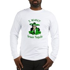 Mexican St. Patrick's Day Long Sleeve T-Shirt