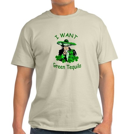 Mexican St. Patrick's Day Light T-Shirt